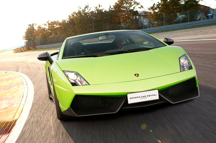 Image of   Co-Driver i Lamborghini