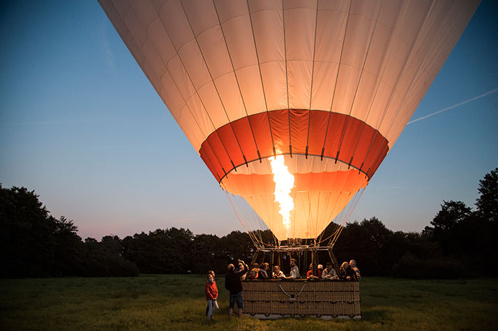 Image of   Ballonflyvning