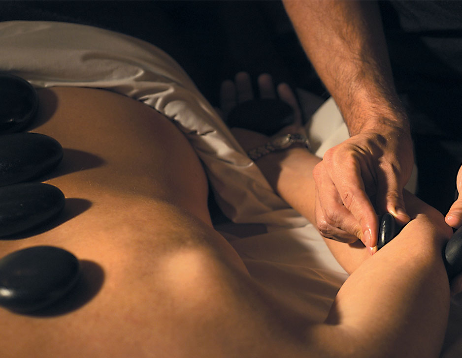 Image of   Hot stone massage hos Nimat