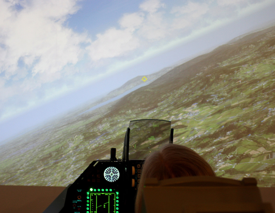 Image of   F-16 simulator hos YouFly