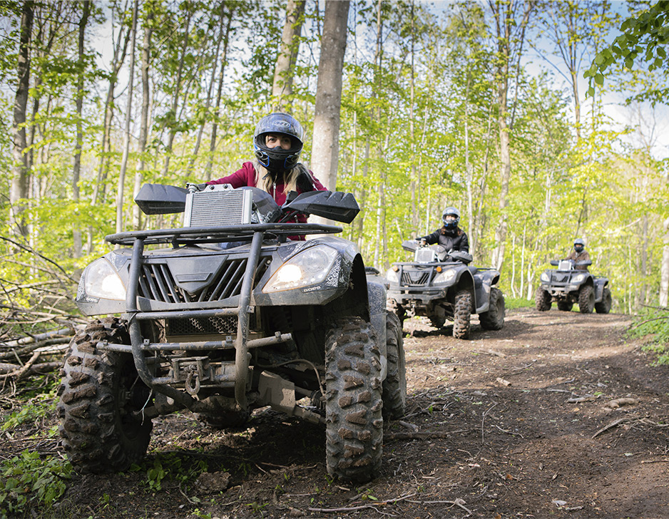 Image of   ATV safari med Outdoor Action